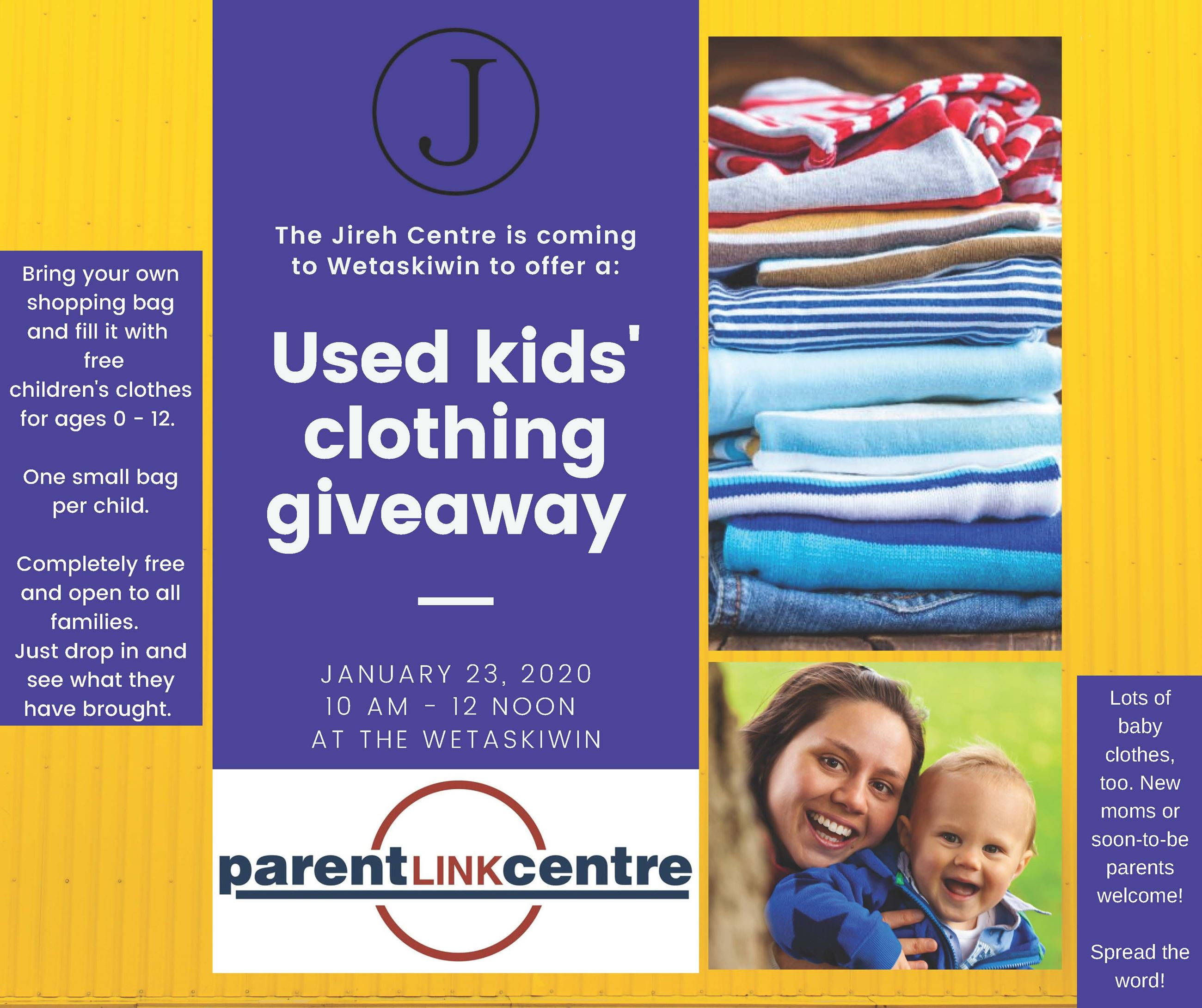 Kids Clothing Giveaway