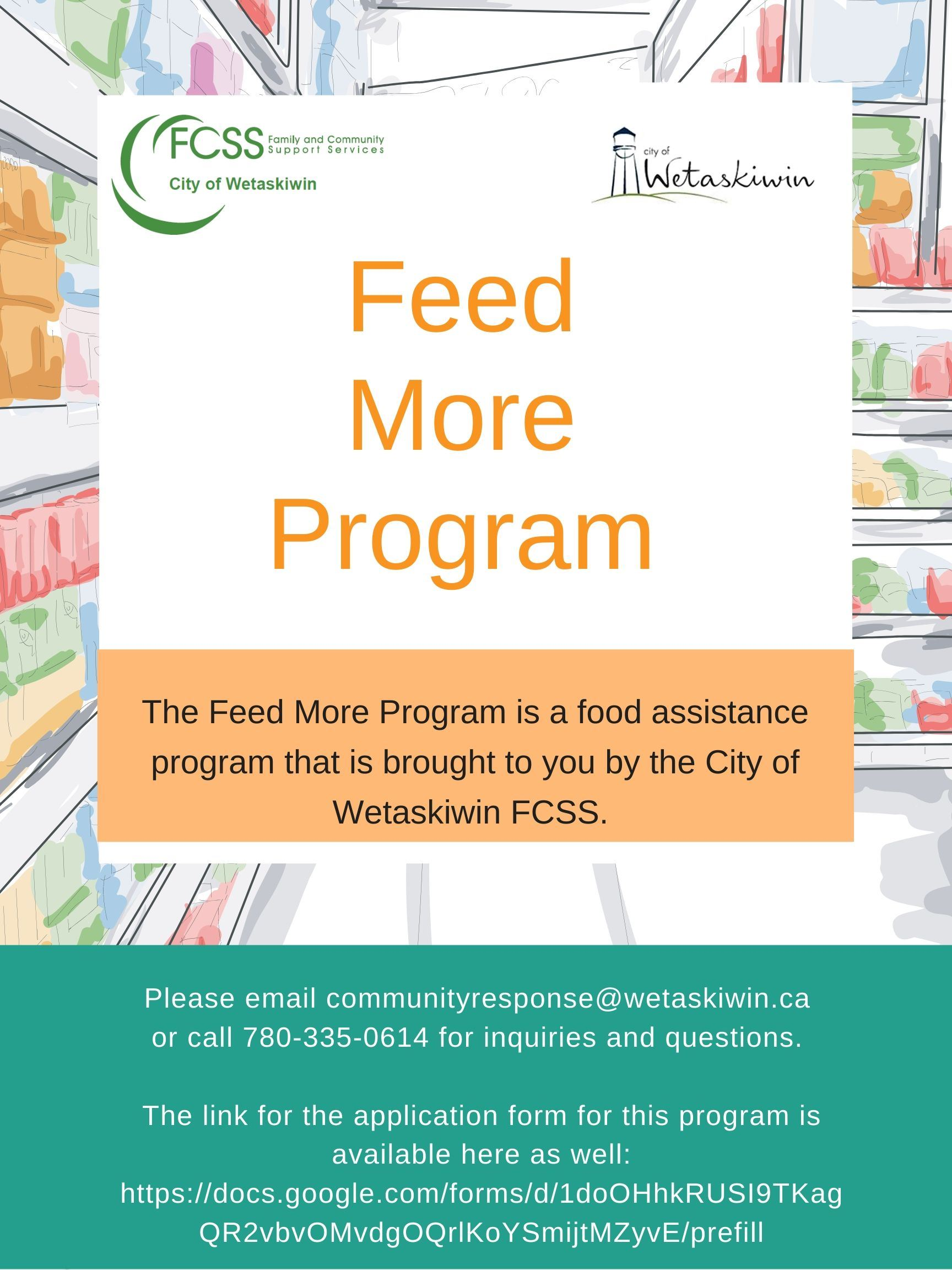 Feed More Program Poster (002)