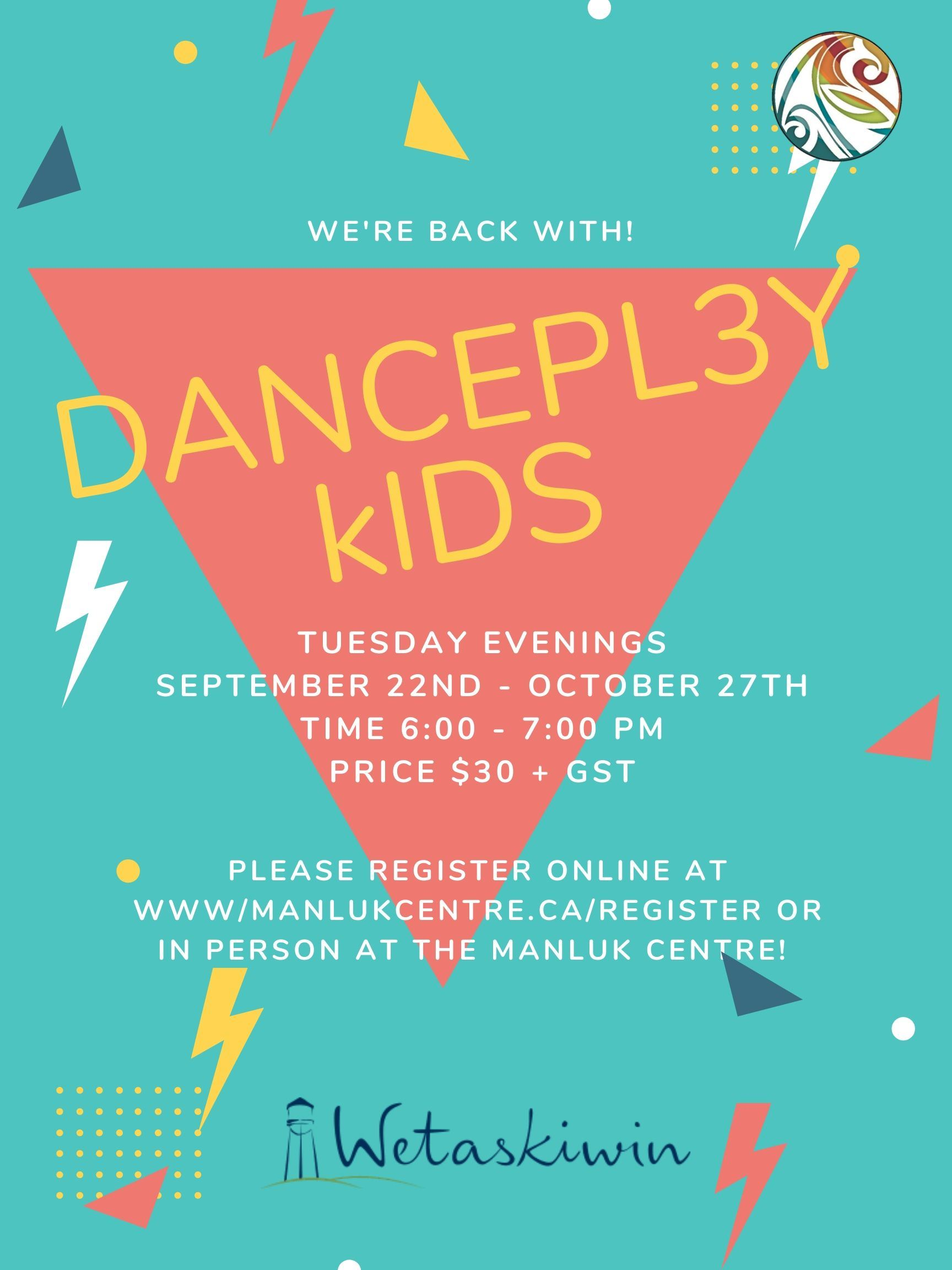 DANCEPL3Y Kids _ Sept. 22nd - Oct. 27th Fall 2020